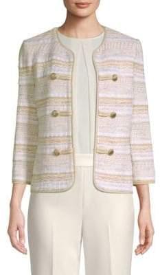 St. John Tweed Stripe Jacket