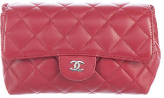 Chanel Chanel Quilted Flap Cosmetic Case