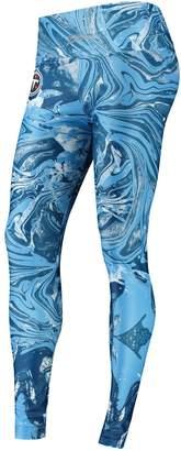 Unbranded Women's Zubaz Navy Tennessee Titans Swirl Leggings
