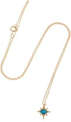 Celine Daoust Doublet Star Opal Necklace