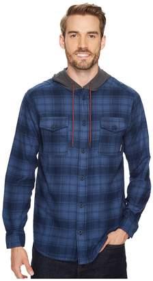 Columbia Flare Gun Flannel Hoodie Men's Sweatshirt
