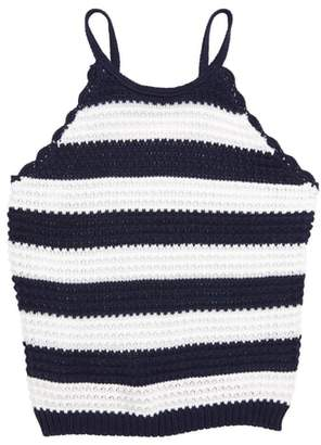 Ten Sixty Sherman Stripe Halter Sweater