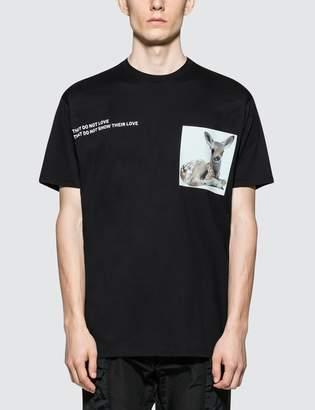 Burberry Deer Printed S/S T-Shirt