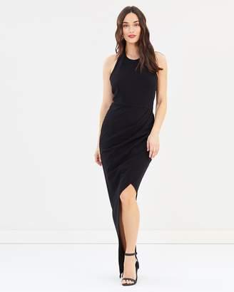 Isadora Halter Maxi Dress