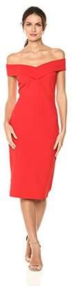 ECI New York Women's Sweetheart Solid Sheath Dress