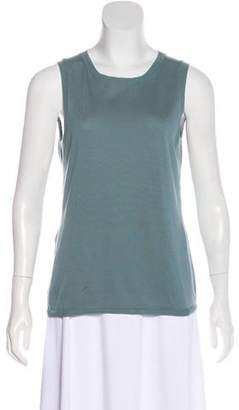 Peserico Sleeveless Crew Neck Top