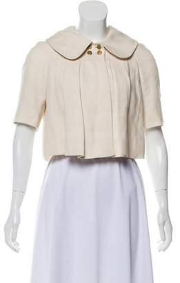 Chloé Cropped Linen Jacket
