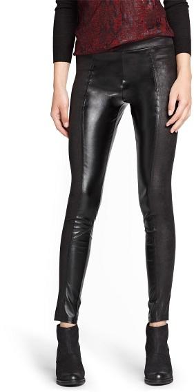 MANGO Outlet Faux Leather Leggings