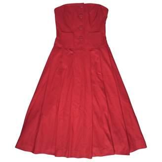 JC de CASTELBAJAC Red Wool Dress for Women