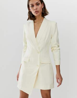 UNIQUE21 tux blazer dress with buttons