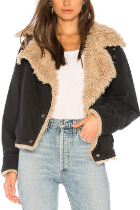 Free People Sherpa Lined Jacket