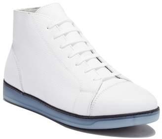 Bugatchi Venezia Leather High-Top Sneaker