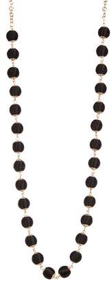 Natasha Accessories Tiny Ball Wrapped Necklace