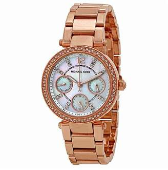 Michael Kors Women's Parker Rose Gold-Tone Watch MK5616
