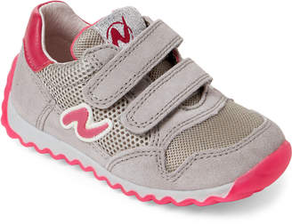 Naturino Toddler Girls) Grey & Fuchsia Mesh Low-Top Sneakers