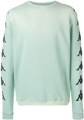 Paura sleeve logo print sweatshirt