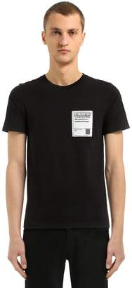 Maison Margiela Cotton Jersey T-Shirt W/ Patch