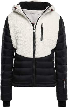 Perfect Moment Matelasse And Quilted Shell Hooded Down Jacket