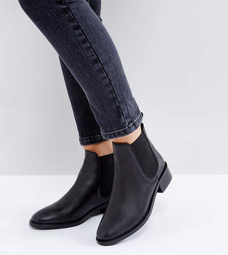 Asos Design ABSOLUTE Leather Chelsea Ankle Boots