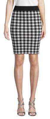 Ronny Kobo Classic Plaid Skirt