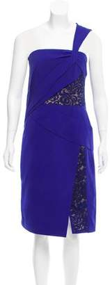 J. Mendel Paneled Asymmetrical Dress