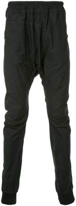 Julius relaxed drop-crotch trousers