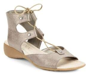 The Flexx Band on the Run Leather Sandals
