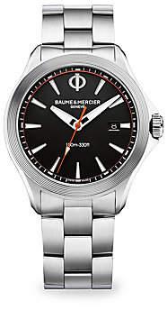 Baume & Mercier Women's Clifton Club Stainless Steel Bracelet Watch