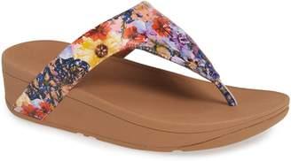FitFlop Lottie Flower Crush Flip Flop