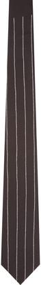 Givenchy Black Silk Pinstripe Tie $220 thestylecure.com