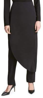 Donna Karan Draped Skirted Pants