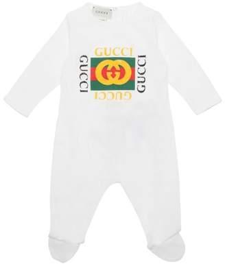 d3c0148d7163 Cotton Jersey Sleepsuit - ShopStyle UK