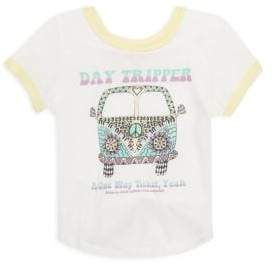 Rowdy Sprout Toddler's, Little Girl's & Girl's Day Tripper T-Shirt