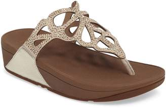 FitFlop Bumble Crystal Flip Flop