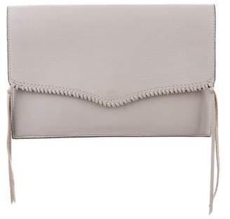 Rebecca Minkoff Leather Flap Clutch