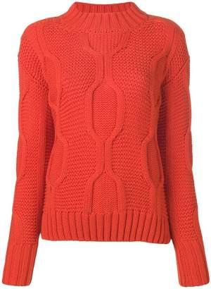 Odeeh long-sleeve knitted sweater