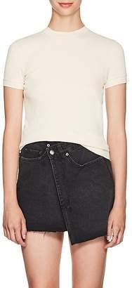 Helmut Lang Women's Cotton Mesh Jersey T-Shirt