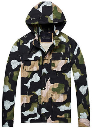 Scotch & Soda Four-Pocket Military Jacket