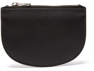 A.P.C. Leather Coin Purse - Mens - Black
