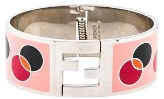 Fendi Enamel Fendista Bracelet