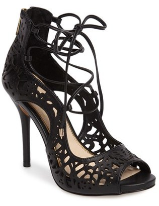 Women's Jessica Simpson Briony Perforated Ghillie Sandal $109.95 thestylecure.com