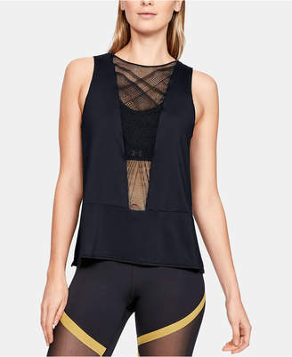 06889db155107 Under Armour Misty Copeland Signature Embroidered Strappy-Back Tank Top