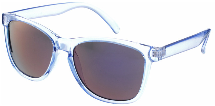 Jeepers Peepers Sport Clear Round Mirrored Sunglasses