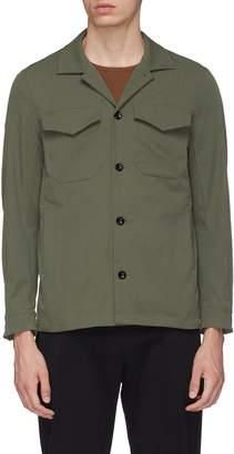Attachment Chest pocket twill shirt jacket