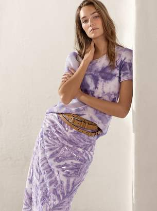 Michael Kors Tie-Dye Cashmere T-Shirt