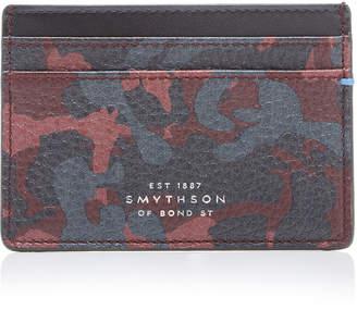Smythson Burlington Printed Leather Card Case