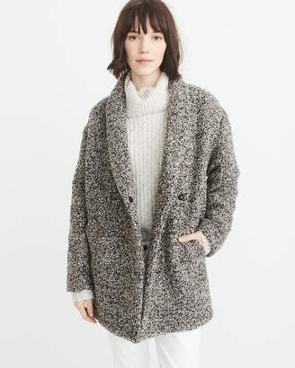 Abercrombie & Fitch Wool-Blend Overcoat