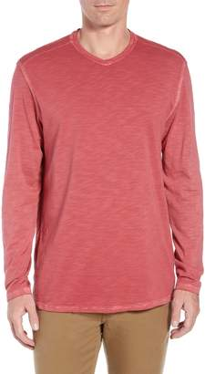 Tommy Bahama Suncoast Shores Long Sleeve V-Neck T-Shirt