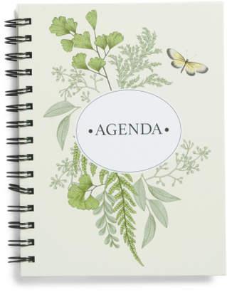 6x8 Undated Agenda