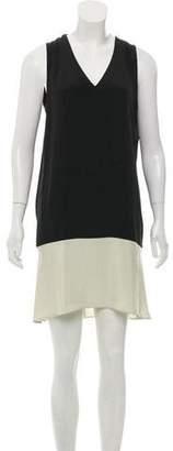 Derek Lam Silk Mini Shift Dress